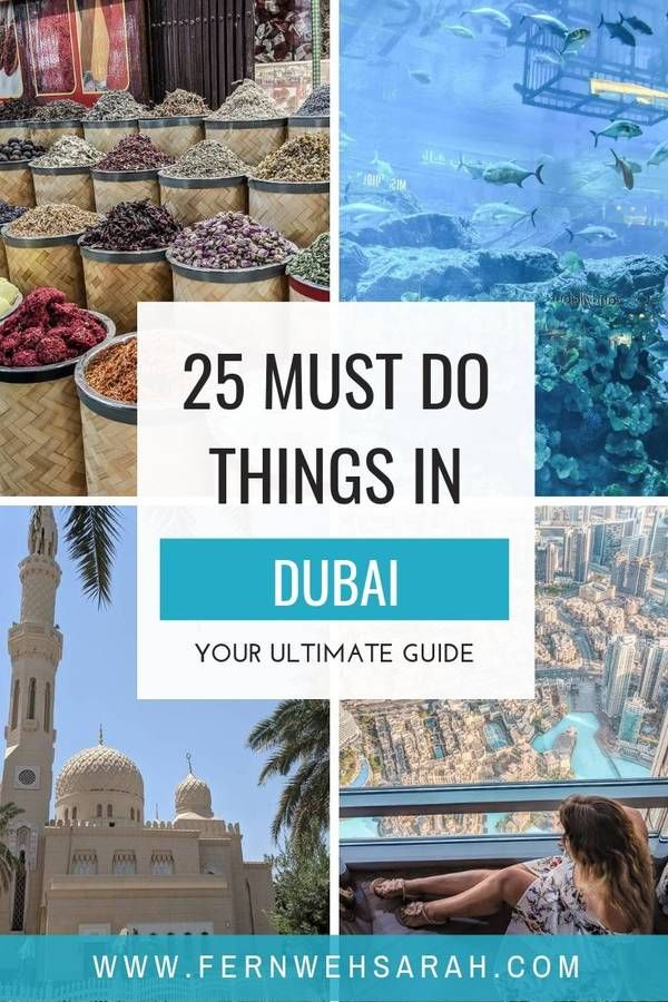25 Best things to do in Dubai – the ultimate list