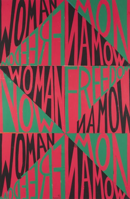 Faith Ringgold, 'Woman Freedom Now (Political Posters),' 1971, ACA Galleries