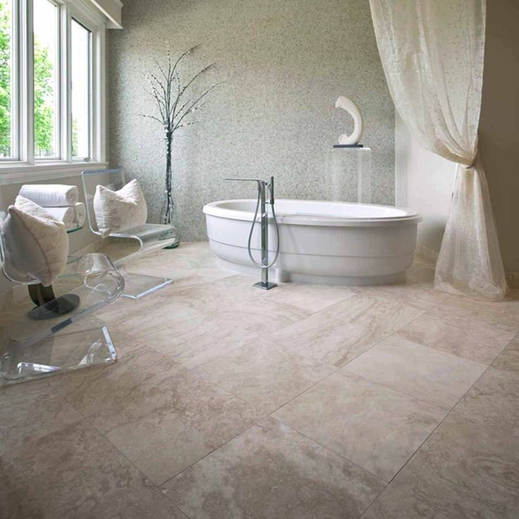 Crown Tiles | 40.6x40.6 Commercial Travertine H&F - Crown Tiles
