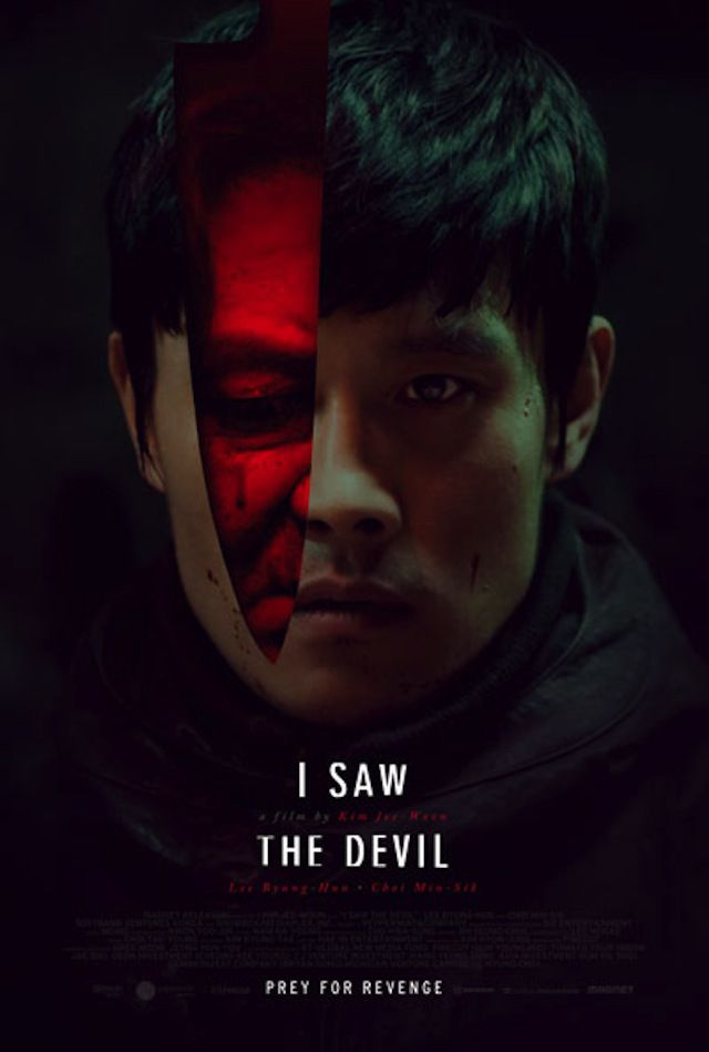 I Saw the Devil (2010) When his pregnant fiancee becomes the latest victim of a serial killer, a secret agent blurs the line between good and evil in his pursuit of revenge. Byung-hun Lee, Min-sik Choi, In-seo Kim...TS foreign/horror