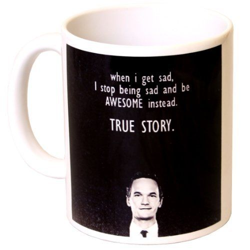 """""""True Story"""" How I Met Your Mother Sitcom Gift Mug - MugsnKisses Collection - Birthday, Christmas, Father's Day, Mother's Day, Work Colleague Gift MugsnKisses http://www.amazon.co.uk/dp/B005DL3NAA/ref=cm_sw_r_pi_dp_Dwu4tb1EJ184T8R2"""