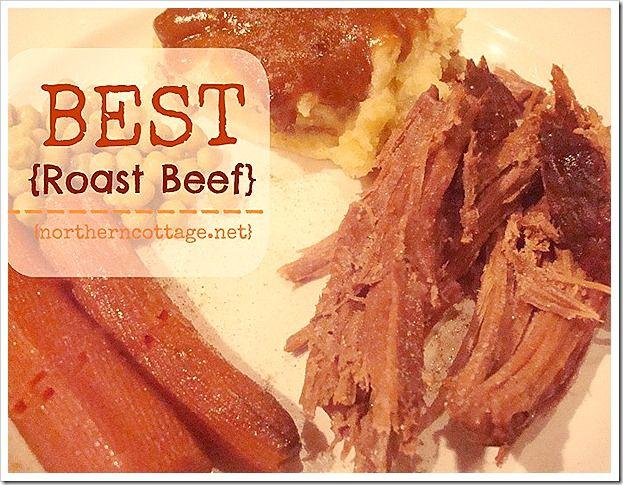 1000+ ideas about Best Roast Beef Recipe on Pinterest ...