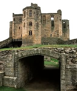 Warkworth Castle, England The original motte & bailey castle was built in the mid 12th century by Earl Henry of Northumberland, son of David I, King of Scots. In 1157, Henry II recovered Northumberland from the Scots, & in the following year gave Warkworth Castle to Roger FitzRichard. But the castle is most famously associated with the Percy family, who acquired the castle in 1332.The Percy family were one of the most powerful in the country, controlling much of Northern England.