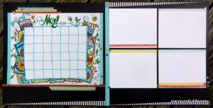 Hand Drawn May Calendar Layout Page – FREE Download! | MaryGunnFunn.com