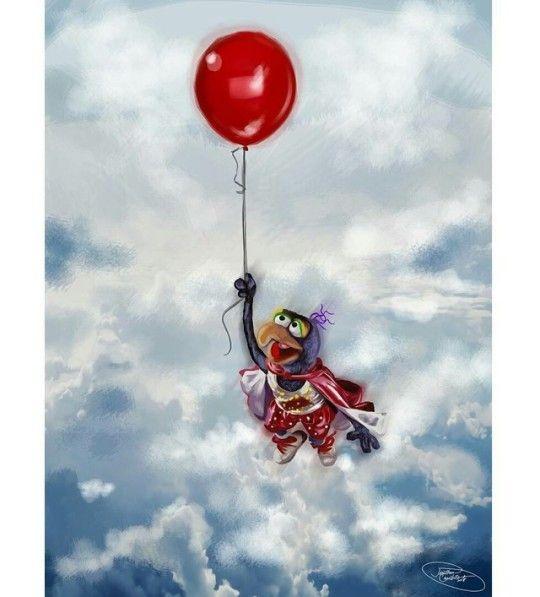Gonzo, The Muppet Movie Artwork by Jonathan Caustrita.