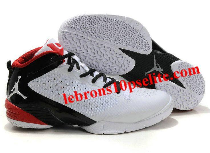 Dwyane Wade Shoes - Jordan Fly Wade 2 White/Varsity Red/Black