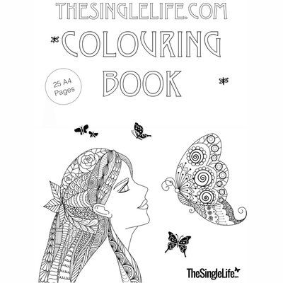 TheSingleLife.com Colouring Book