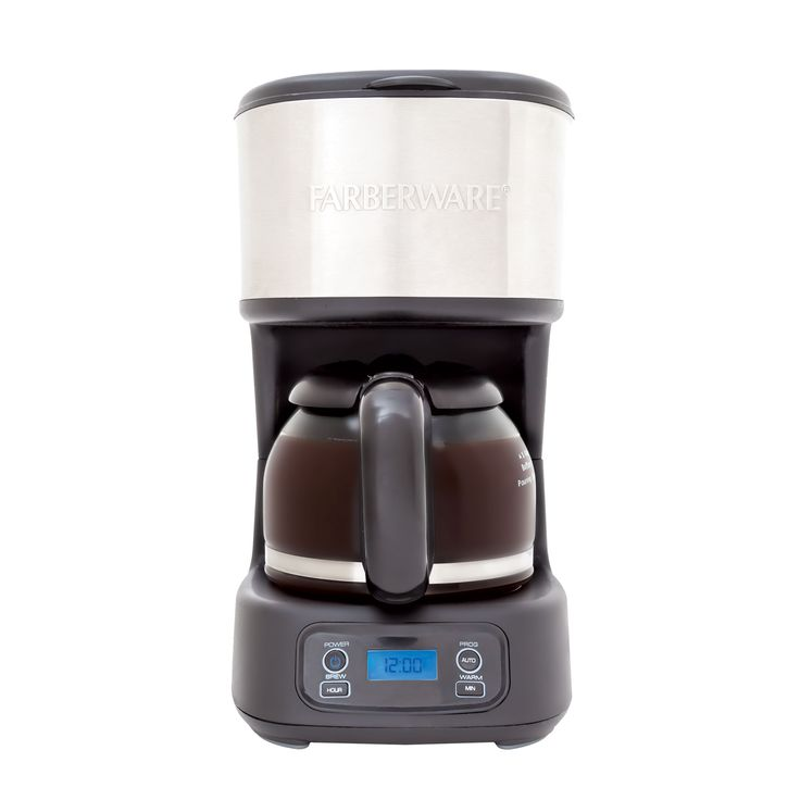 Buy this Farberware 12-cup programmable coffee and tea maker! The perfect two-in-one reusable filter coffeemaker with the option to also brew your favorite tea! Click to browse Farberware, get coupons, and find recipes.