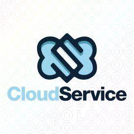 Exclusive Customizable Logo For Sale: Cloud Service | StockLogos.com https://stocklogos.com/logo/cloud-service