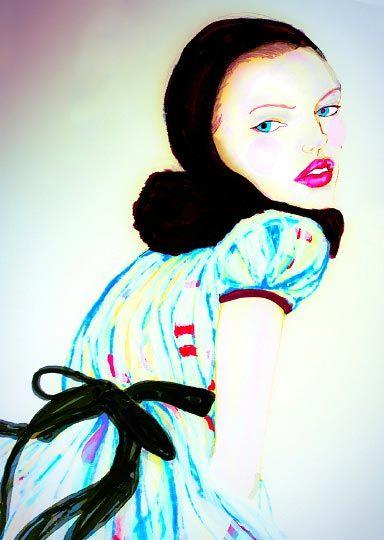 Illustration by Danny Roberts: Junko Shimada fall 2009
