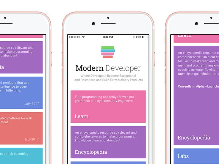 Homepage Mobile Layout by Kyril Kulikov #Design Popular #Dribbble #shots