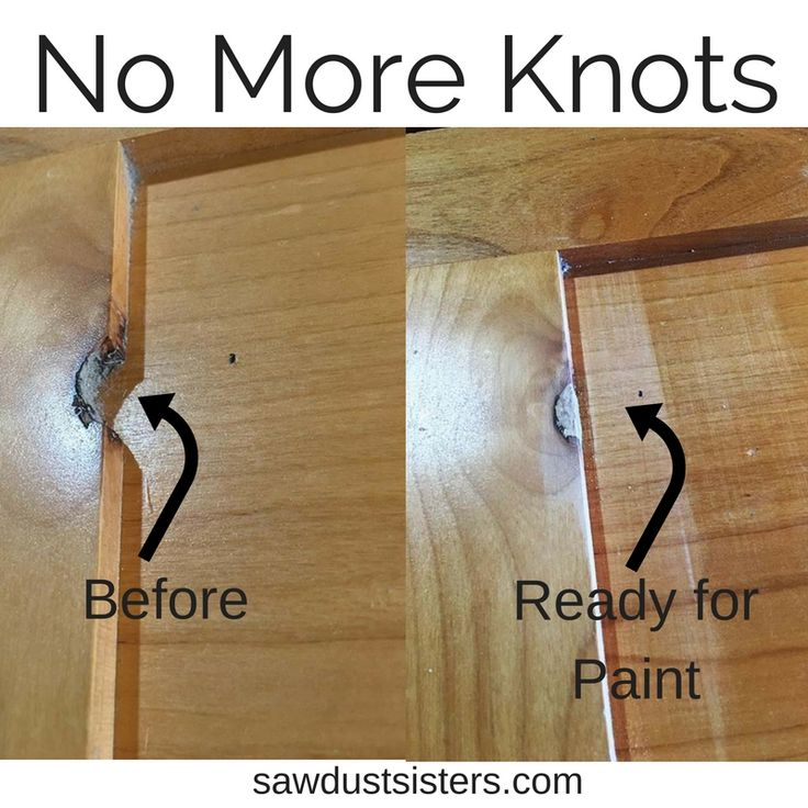 Easy Way To Fill Knots On Wood Refinishing Knotty Alder