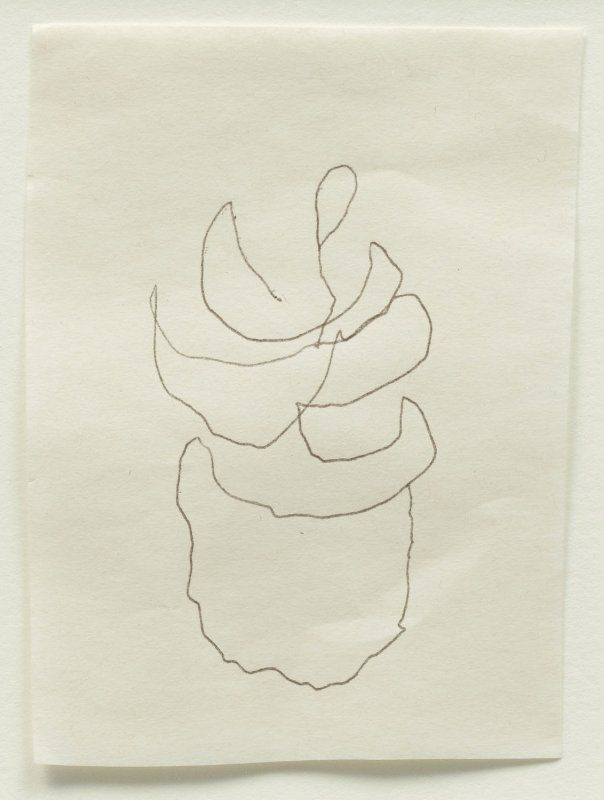 ·|· Agnes Martin, Untitled, 2004. This was her last drawing.