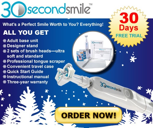The 30 Second #Smile #toothbrush