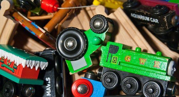 Παιδικά παιχνίδια: βάλτε τάξη!