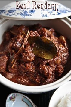 Best beef rendang recipe I've found. Subs I made - skip the dried chillis. All of them. Don't bother with 120g of dried coconut, bung in slow cooker then cook off sauce later.