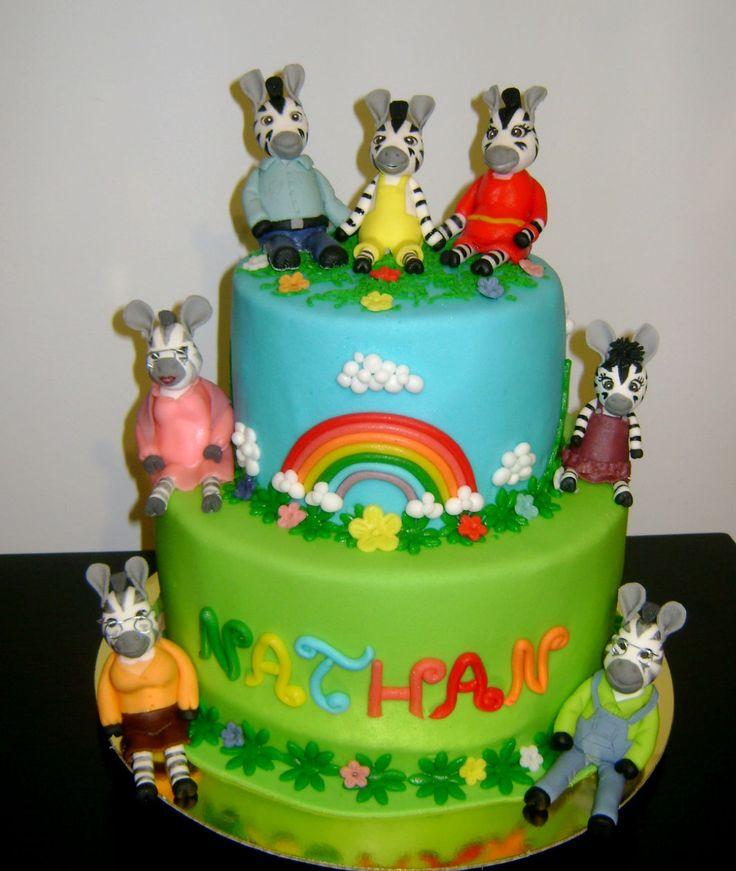 Zebra Zou cake