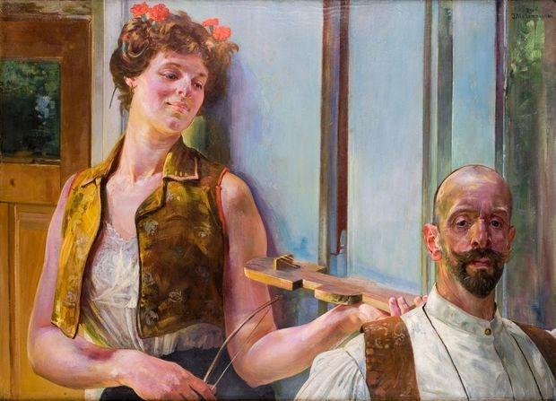 Jacek Malczewski - Zauroczenie (Enchantment)  1906.