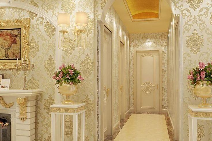 Beibehang dormitorio del papel de empapelar papel de parede No tejido tienda de salón sencilla Europea Damasco papel tapiz para paredes 3 d en Fondos de pantalla de Mejoras para el hogar en AliExpress.com | Alibaba Group