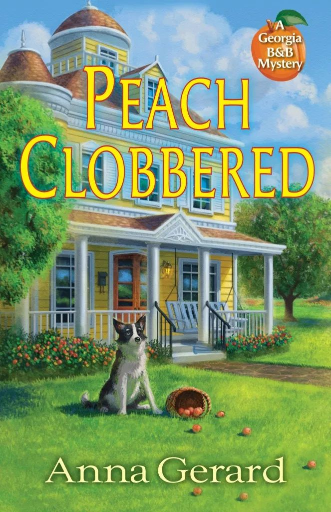 Mercredi agréable avec Anna Gerard – Auteur de Peach Clobbered: Un mystère de la Géorgie dans le B & B – #AuthorInterview / #Review / #Giveaway @crookedlanebks  – Cozy contest