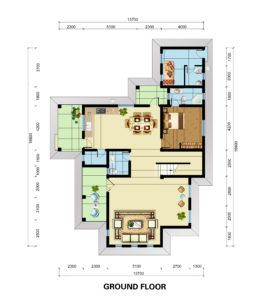 Mirembe Villas floor plans.