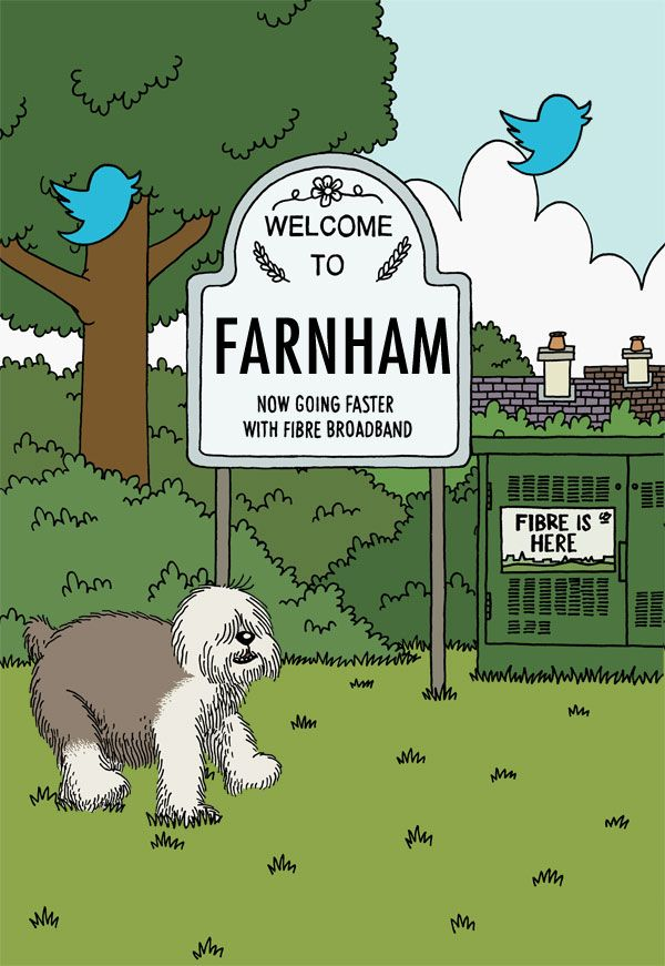 Do you live in Farnham? Check your fibre broadband availability now - Superfast Surrey