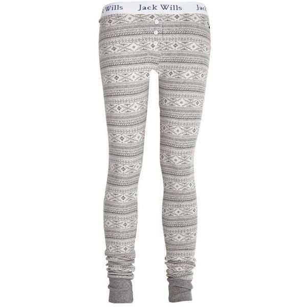 Woodlark Leggings ($45) ❤ liked on Polyvore featuring pants, leggings, pajamas, bottoms, women, cotton pants, elastic waistband pants, stretch waist pants, jack wills leggings and cotton trousers