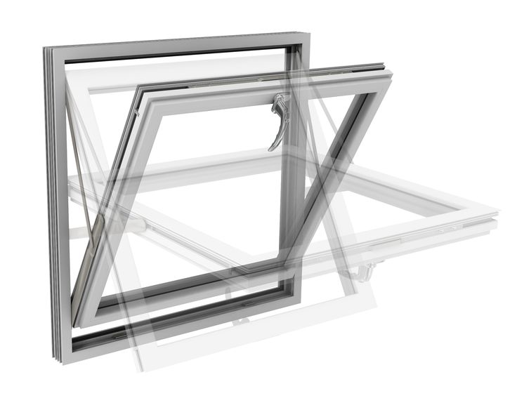 #8 Reversible Windows, convenience without compromising on quality or design. http://www.modus75.co.uk #Eurocell