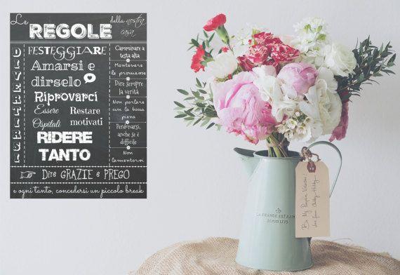 Poster digitale Le regole della casa... Download