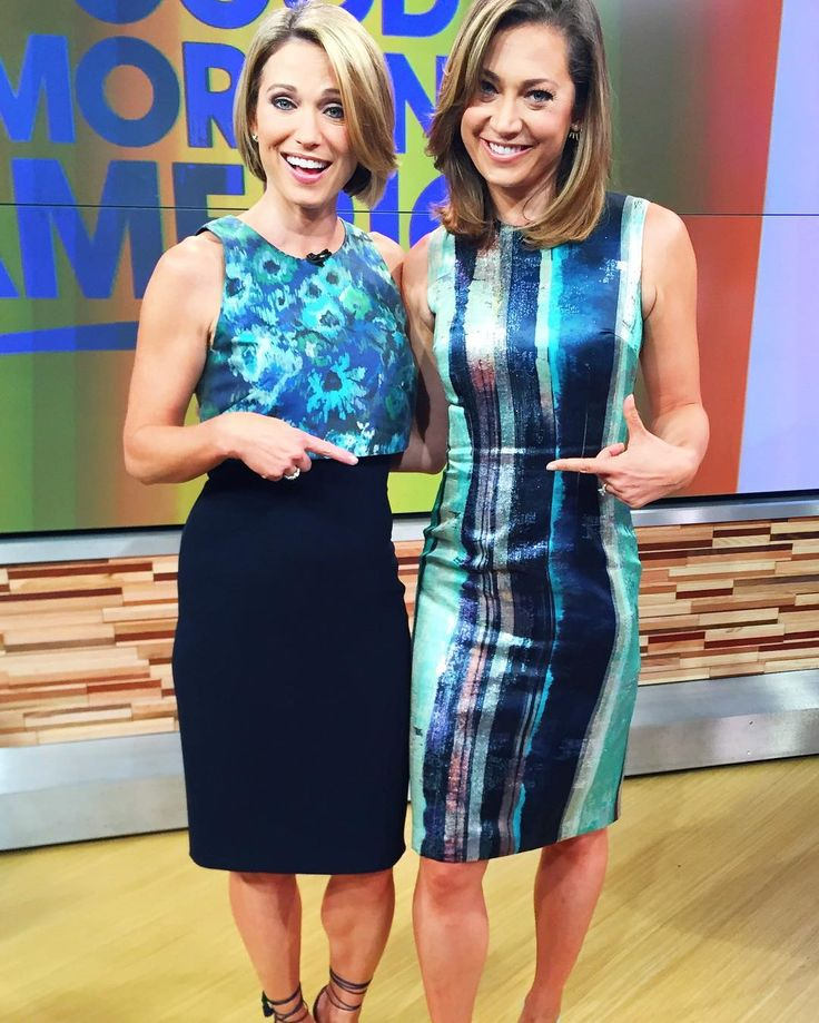GMA'S Amy Robach and Ginger Zee