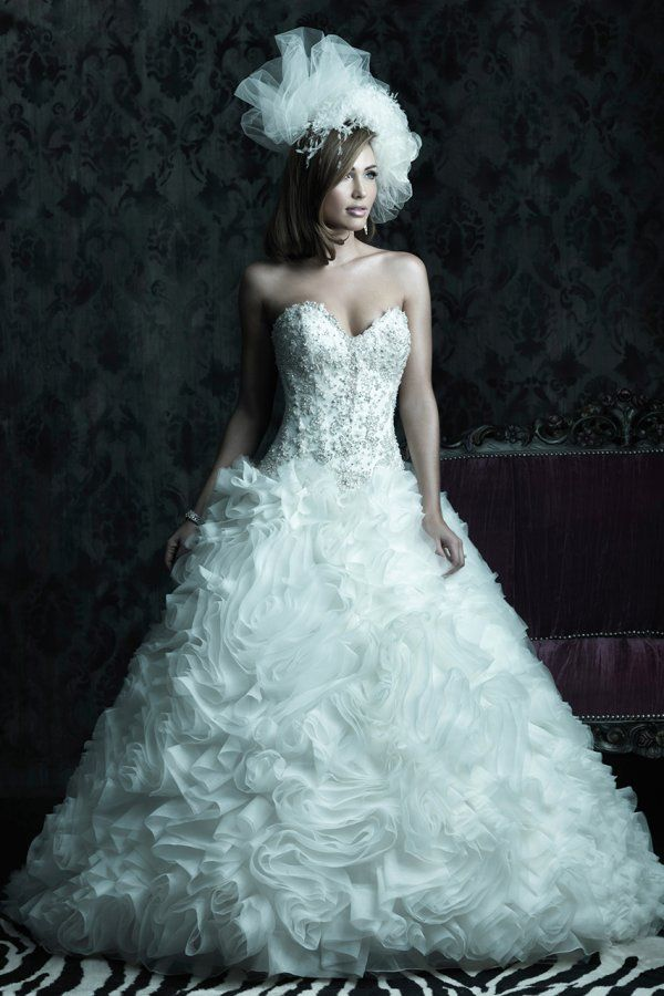 226 best Wedding Dresses - Ball Gown images on Pinterest | Wedding ...