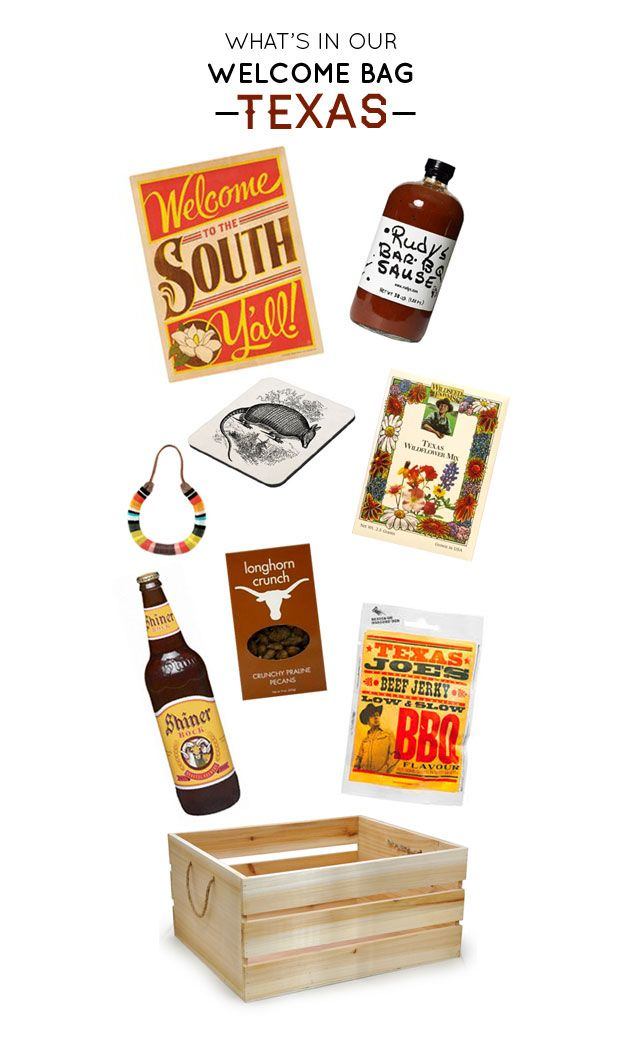What's in our welcome bag: Texas - Bash Please
