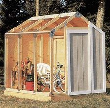 Yes please!!    how to build an insulated shed - I want one to convert into an outdoor walk in cooler!