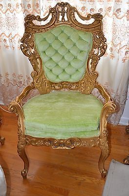 French Provincial Chairs Antiques | EBay   I Absolute Do Not Like The Gold,  But
