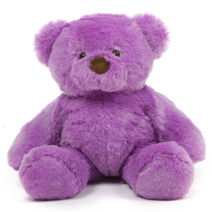 Giant Teddy - Lila Chubs Soft Adorable Big Purple Teddy Bear 30in, $48.60 (http://www.giantteddy.com/lila-chubs-soft-adorable-big-purple-teddy-bear-30in/)