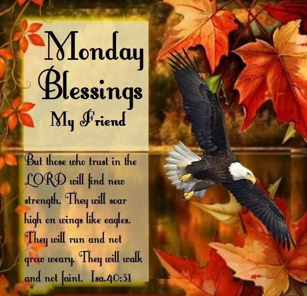 Monday Blessings My Friends.