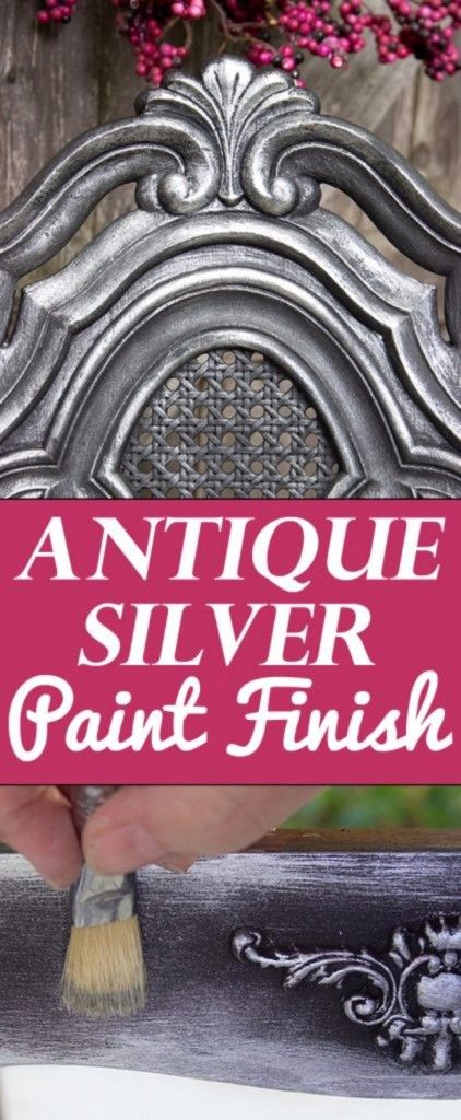 DIY Furniture Refinishing Tips - Antique Silver Furniture Finish - Creative Ways to Redo Furniture With Paint and DIY Project Techniques - Awesome Dressers, Kitchen Cabinets, Tables and Beds - Rustic and Distressed Looks Made Easy With Step by Step Tutorials - How To Make Creative Home Decor On A Budget http://diyjoy.com/furniture-refinishing-tips