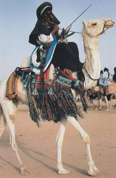 Tuareg in Niger - The Tuareg are a Berber people with a traditionally nomadic…