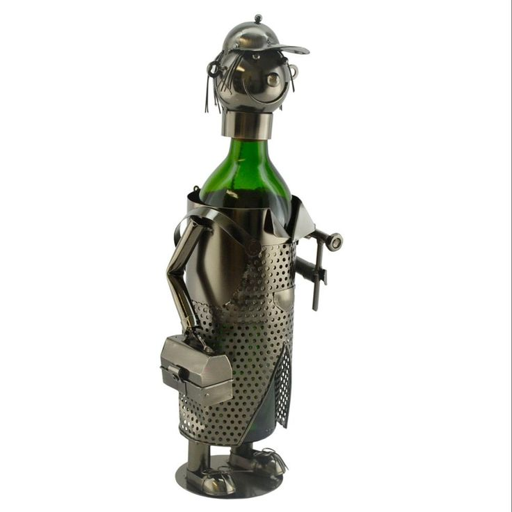 Three Star WineBodies Handy Man Wine Bottle Holder
