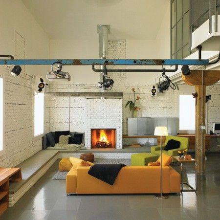 loft - Regards et Maisons le blog. those colors.