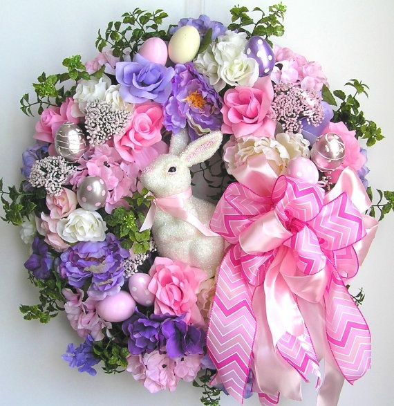 PETER COTTONTAIL~Spring Bunny Wreath by WreathbyHH