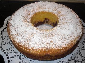 Klassischer Mamorkuchen - Rezept