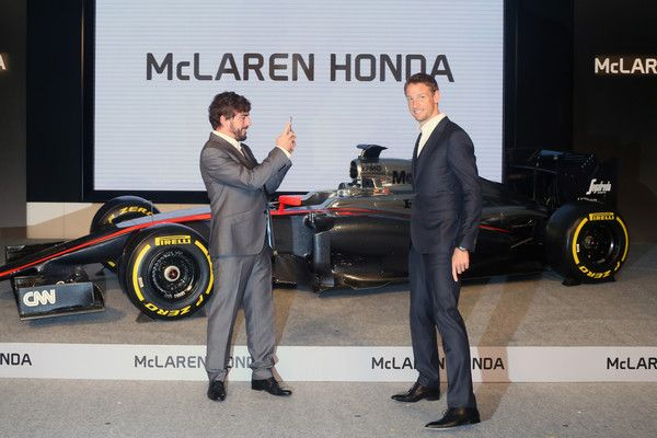 Fernando Alonso Photos: Honda Holds Press Conference Prior To 2015 Formula One World Championship