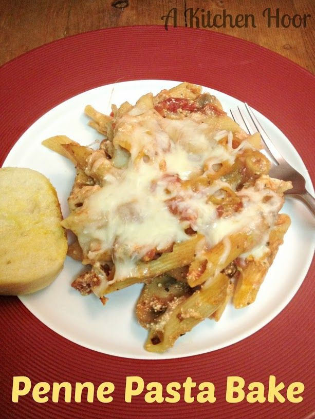 Penne pasta, Penne and Pasta bake on Pinterest