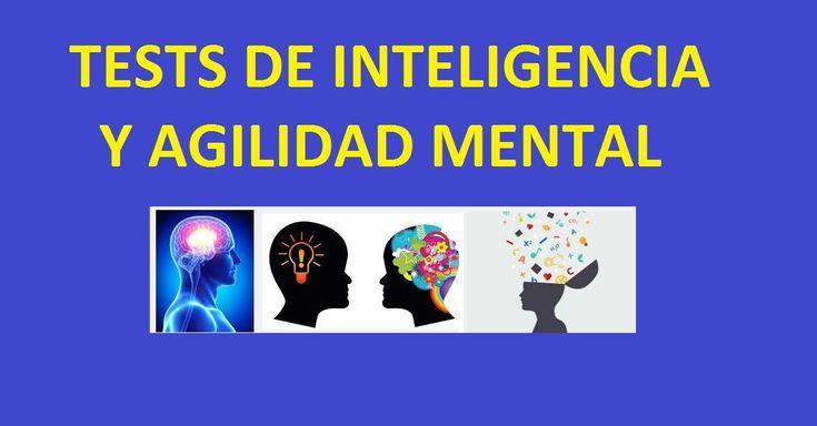 Test de Inteligencia y Agilidad Mental Pruebas de Inteligencia y Juegos Gratis