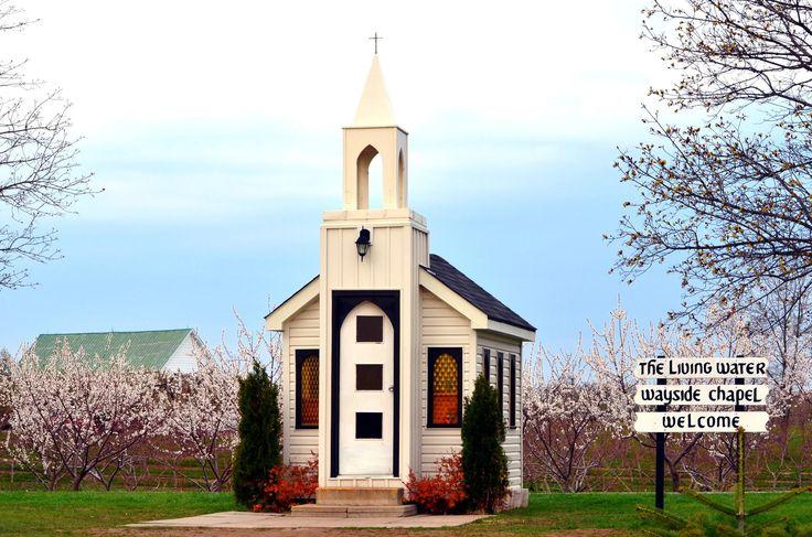The Wayside Chapel | Niagara Parkway In Niagara On The Lake | Ontario | Canada