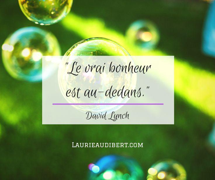 Bonheur / David Lynch