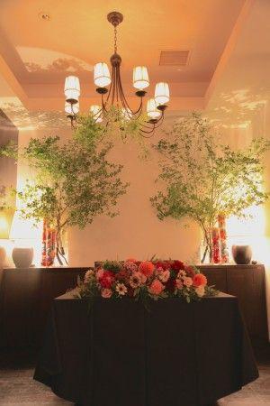 花どうらく/ウェディング/会場装花/メインテーブル/Party /Wedding/decoration/balloon/http://www.hanadouraku.com/