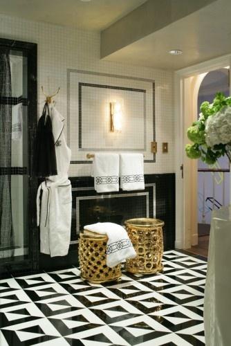 Love This Bathroom Floor Clean Porcelain Tile Floors Interior Design