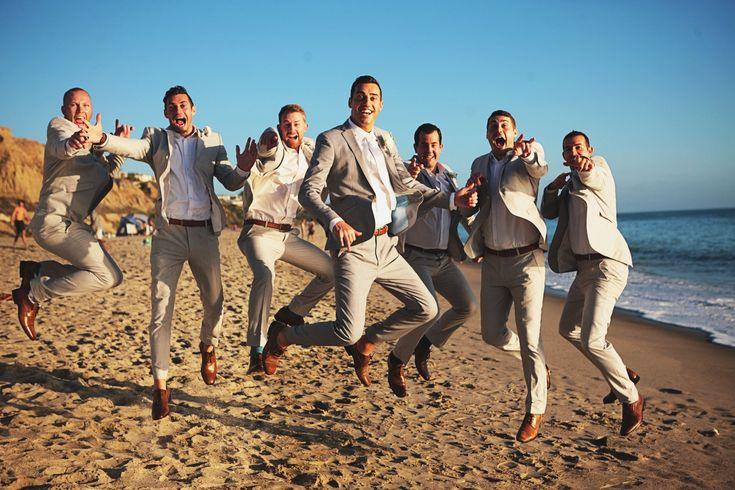 Pure Lavish Events | Coastal wedding | Orange County | Blue wedding | Blue and White | Copro Studios | Groomsmen | Beach wedding